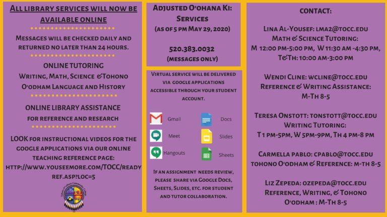 Adjusted O'ohana Ki_ Services Summer Session II 2020